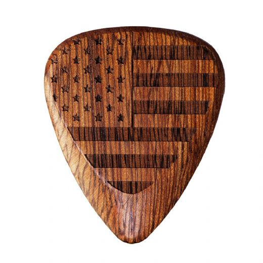Flag Tones Stars & Stripes Cobra Saffron 1 Guitar Pick